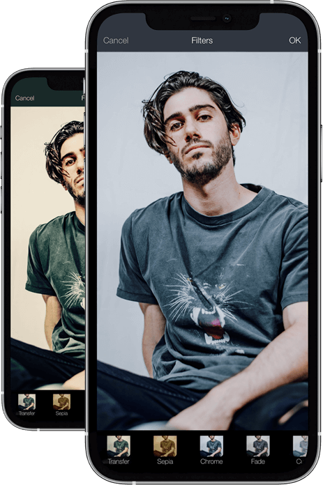 Photo editing in your pocket