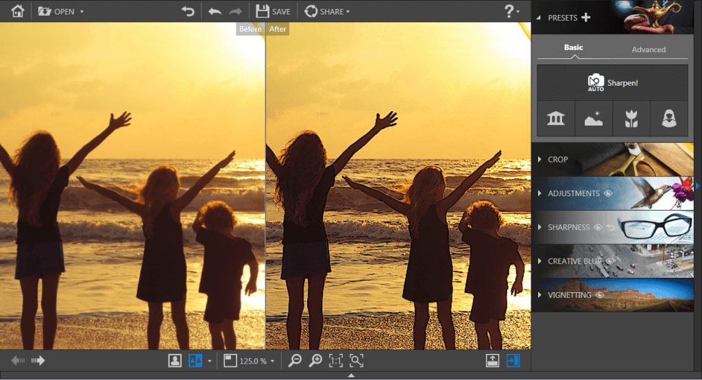 InPixio Photo Focus - Make blurry photos sharp and clear