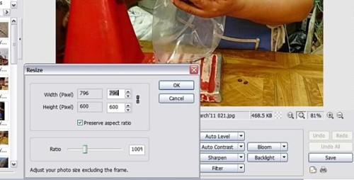 Scaling Resizing Photos In Photoscape Inpixio Photo Software