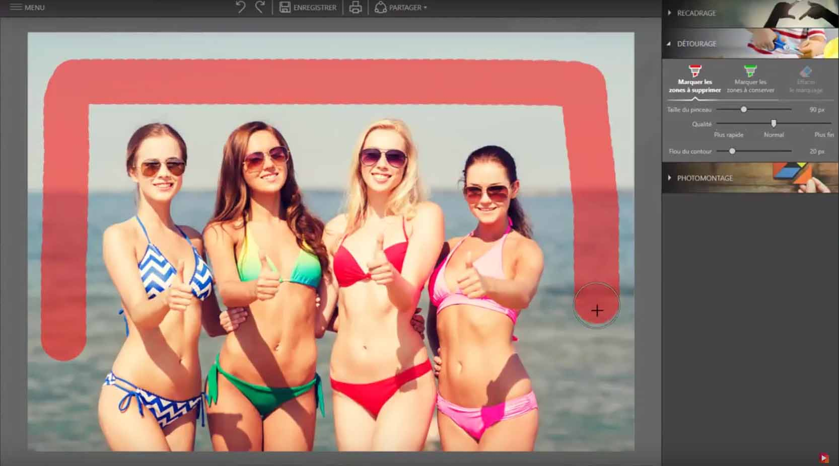 Learn how to create a montage with InPixio Photo Clip