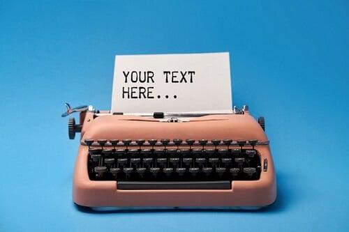 Add Text Typewriter