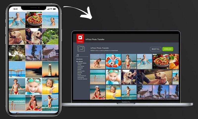 inPixio Photo Transfer App