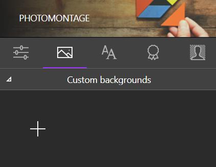 add background