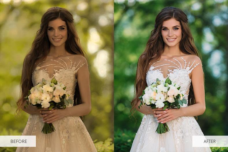 Brighten Wedding Preset