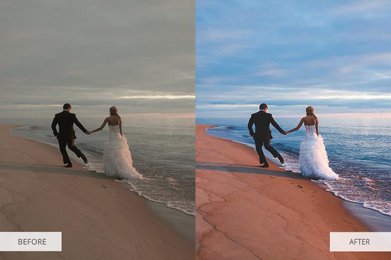 Cold Wind Wedding Preset