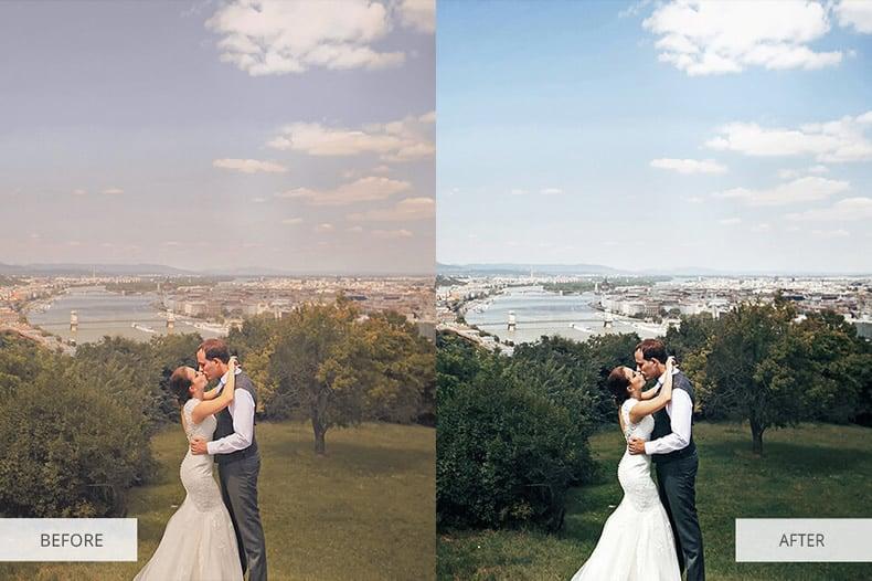 Contrast Wedding Preset
