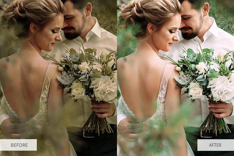 Matte Effect Wedding Preset
