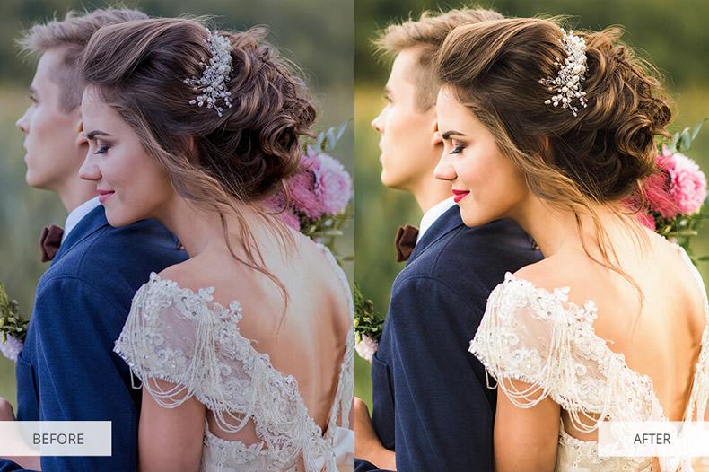 Soft Skin Wedding Preset