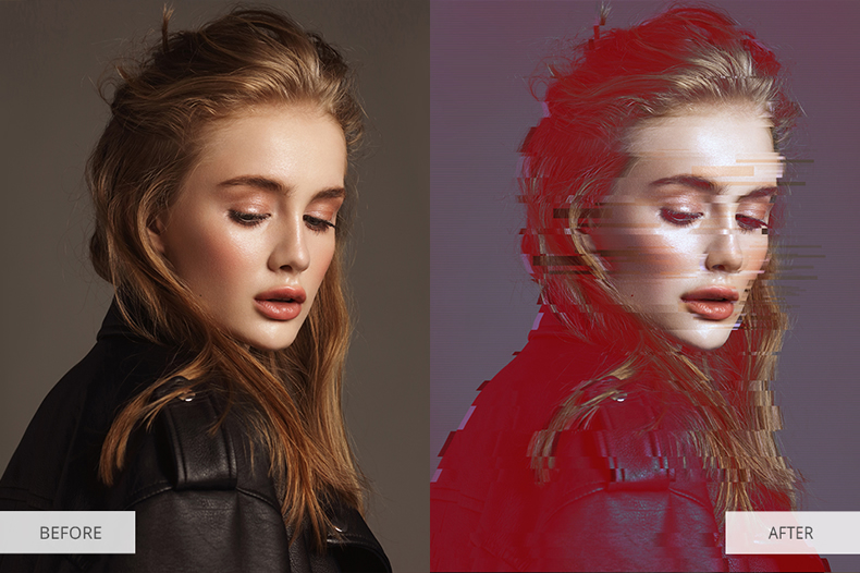 best-photoshop-action-glitch-effect