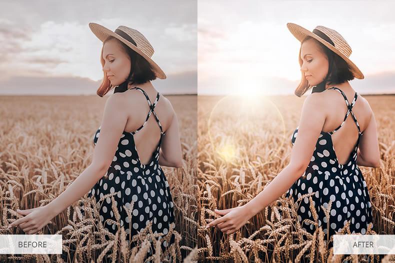 Light Sparkling Photoshop Overlays