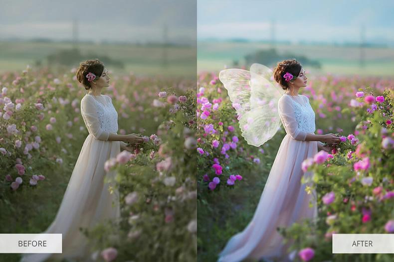 Marvel Wings Photoshop Overlays