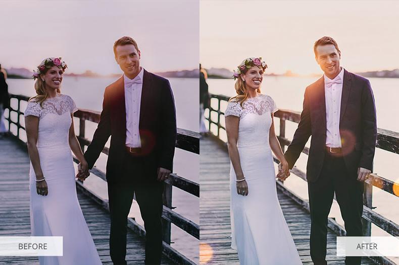Bokeh Light Photoshop Overlays