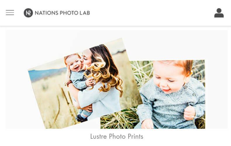 Nations Photo Lab Photo Printing Website