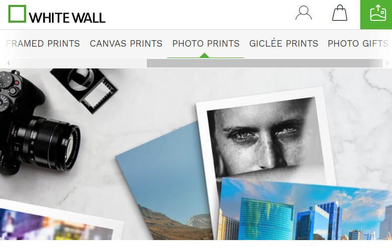 WhiteWall Photo Printing Website
