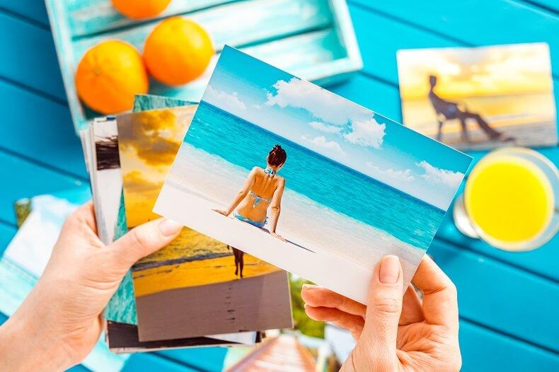 Selection of photo prints