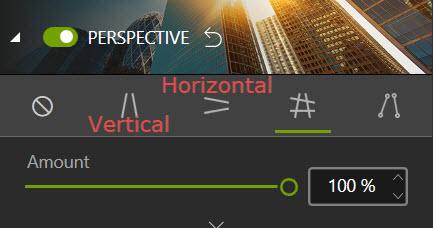 Automatic correction modes