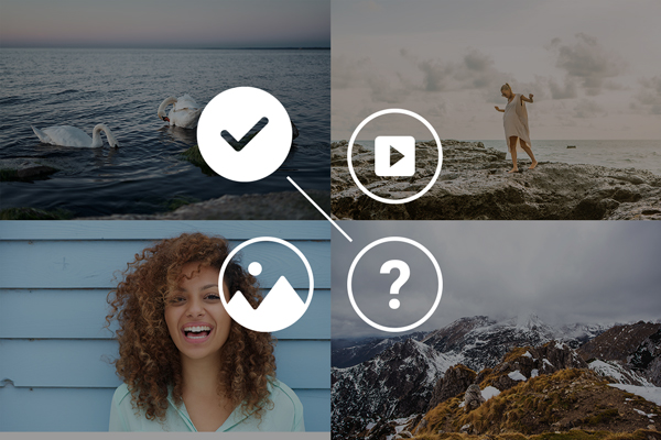 Image representing the different help options in Photo Studio