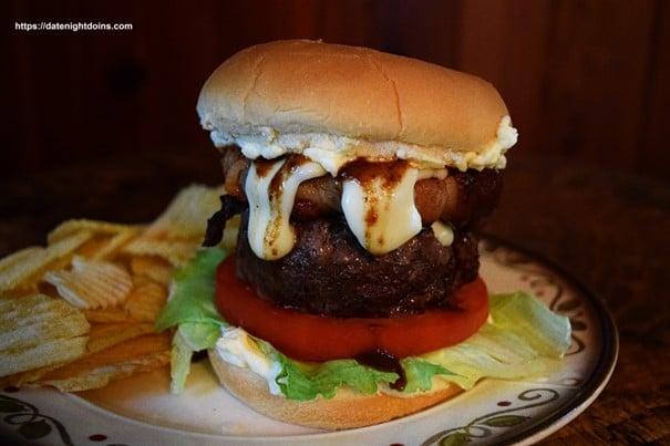 Burger photo edited