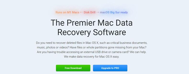 Disk Drill Website