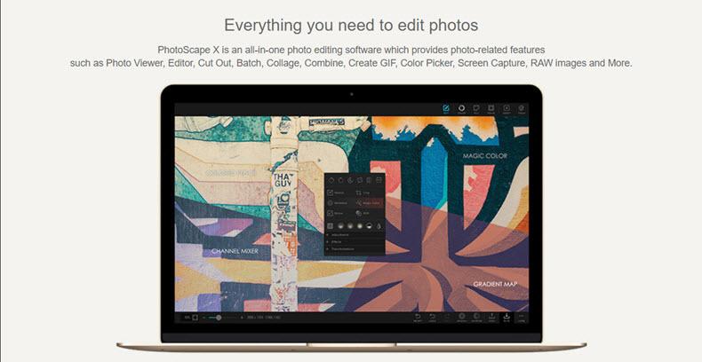 Photoscape X Website