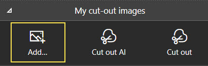 Add images icon